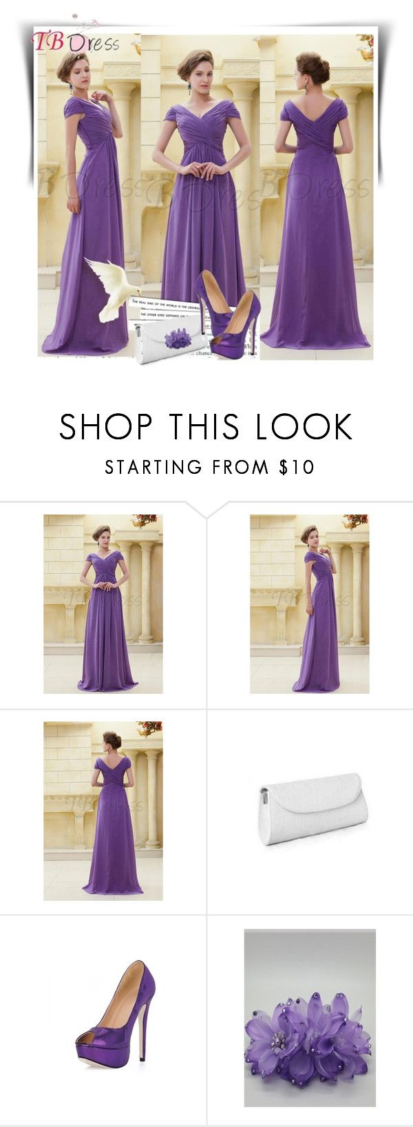 """""""TB Dress"""" by dalila-mujic ❤ liked on Polyvore featuring Retrò and tbdress"""
