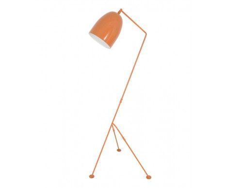 Tripod 1 Light Floor Lamp in Tan | Floor Lamps | Lamps | Lightingbeacon $189