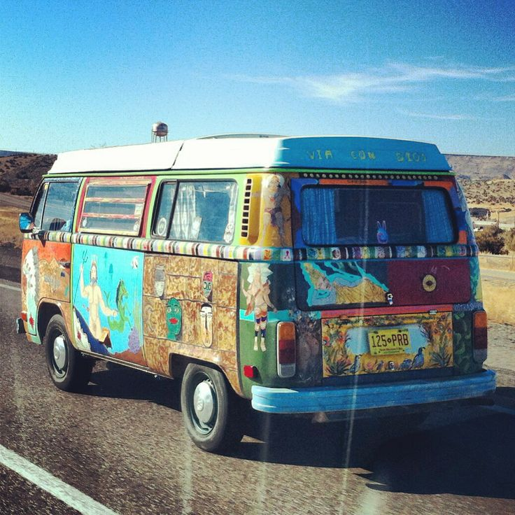 hippies on route