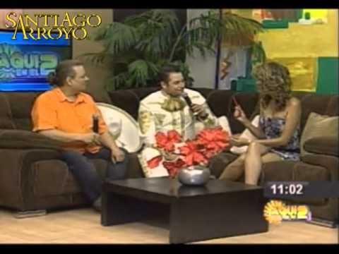Entrevista a Santiago Arroyo por el Canal 2 de Grupo Sipse Santiago Arroyo y el Cientifico Mario Camacho en entrevista, desde Merida, Mexico