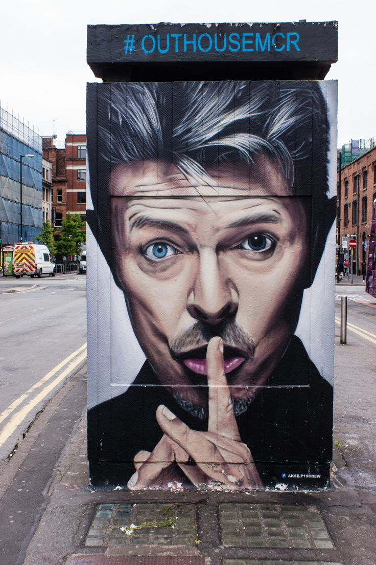 Bowie - Street Art , Manchester