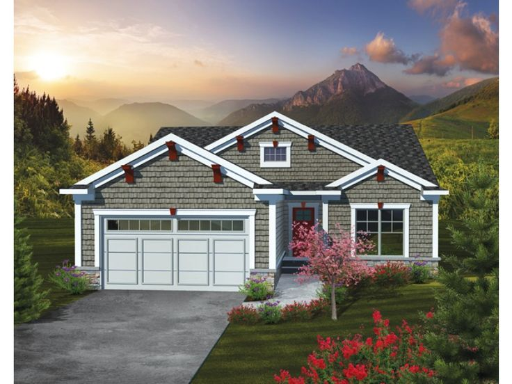 359 best House plans images on Pinterest | Small house plans ...