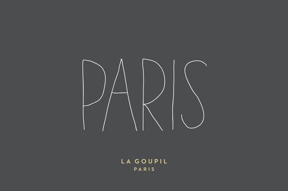 Paris Font Pack by La Goupil Paris on Creative Market
