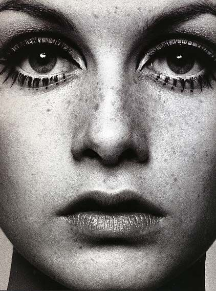 Sometimes only Twiggy's face can help.