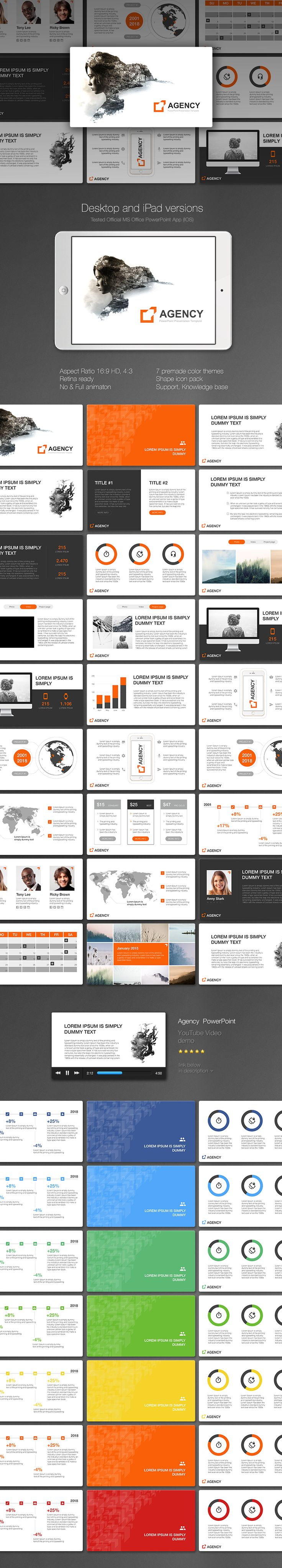 "Download: http://site2max.pro/agency-powerpoint-template/ ""Agency"" PowerPoint template #agency #powerpoint #pptx #marketing #plan #business"