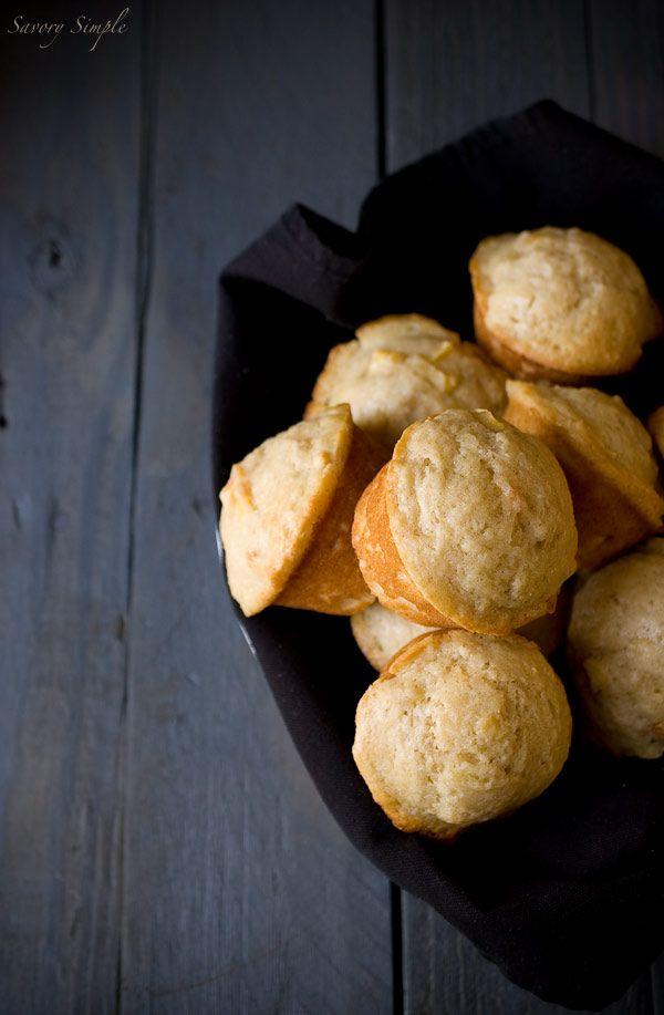 Peach Joghurt Muffins `~ ~ Einfache Bohnenkraut www.savorysimple.net