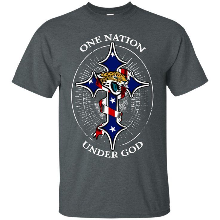 Jacksonville Jaguars Shirts One Nation Under God Jaguars Logo T-Shirts Hoodies Sweatshirts Jacksonville Jaguars Shirts One Nation Under God Jaguars Logo T-Shirt