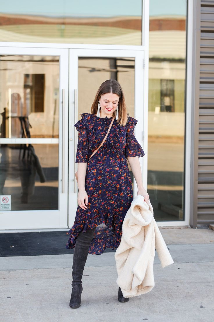 Wearing Florals for Winter: How To Style Floral Prints During Winter