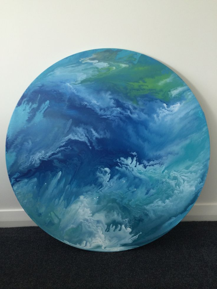 Fluid pouring, acrylic on canvas My abstract art :)