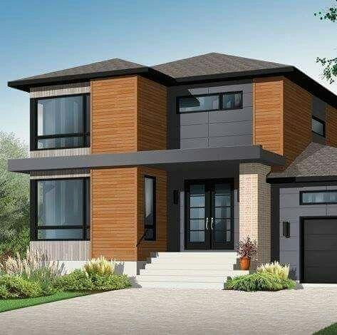 Fassaden, Hausarzt, Moderne Grundrisse, Neubau Pläne, Moderne Hauspläne,  Moderne Häuser, Moderne Villa, Traumhaus Pläne, 2. Stock