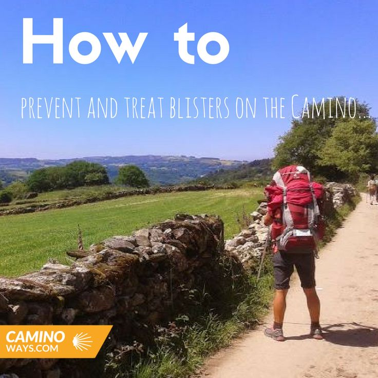 How to treat blisters on the Camino trail...#footcare #walking #trekking #caminodesantiago #traveltips