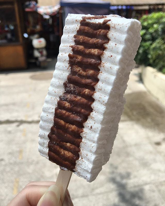 If you've ever been lucky enough to eat the absolute delight that is Viennetta, you'll know that it's the very definition of joy. Ripples of ice cream. Cold chocolate. Individual Viennetta on a stick is now a thing that exists. And it's everything we want right now.