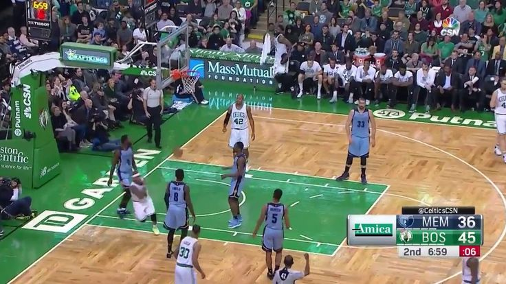 Grizzlies vs Celtics Isaiah Thomas Rainbow Arc shot  NBA Games Today Dec 27 2016