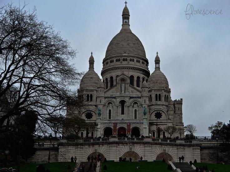 The Basilica of the Sacred Heart of Paris, commonly known as Sacré-Cœur Basilica and often simply Sacré-Cœur, is a Roman Catholic church and minor basilica, dedicated to the Sacred Heart of Jesus, in Paris, France (c) Floresence