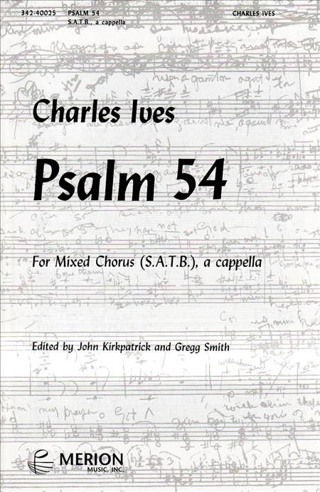 Psalm 54 (Piano Reduction/Vocal Score)