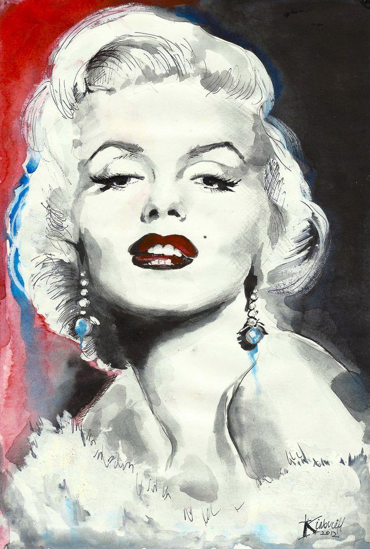 Marilyn Monroe by ~Kinovich on deviantART  || This image first pinned to Marilyn Monroe Art board, here: http://pinterest.com/fairbanksgrafix/marilyn-monroe-art/ ||