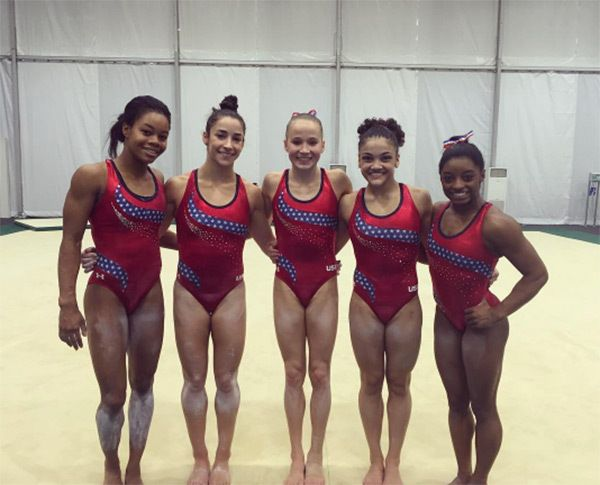 USA Women's Gymnastics — The New Fab Five In Rio The Last Fab Five Team!!