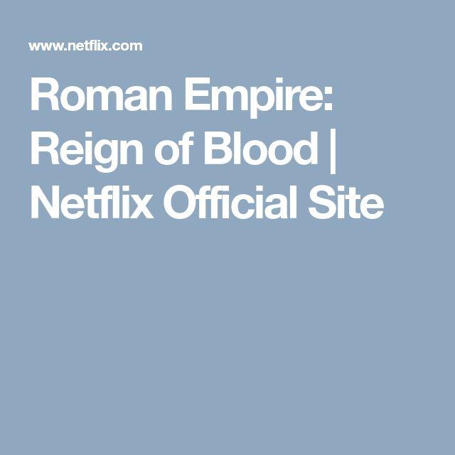 Roman Empire: Reign of Blood   Netflix Official Site