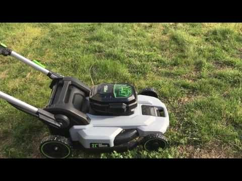 Ego Cordless Electric Mower & String Trimmer Review