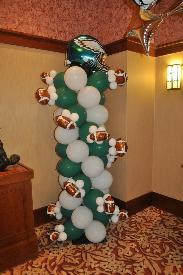Birthday celebration with balloons :-)   Eagles Nation ...