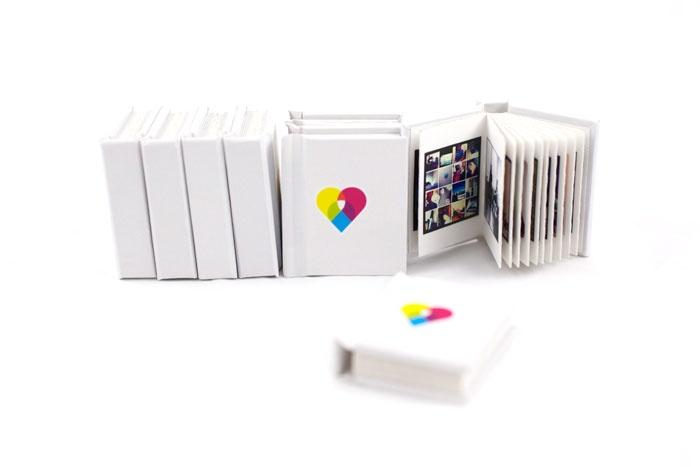 Print Instagram photos to tiny books! $10