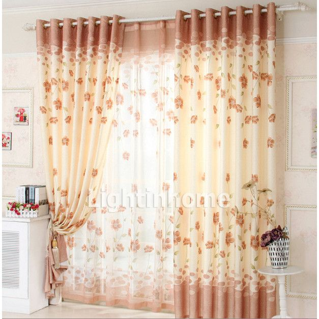 Baby Pink Peacock Cute Discount Overstock Best Curtains Online