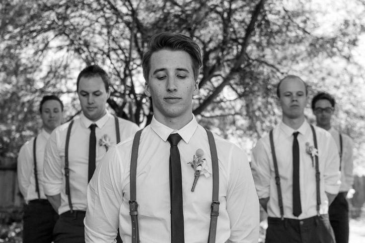 Matt & Esther Photo By Nicole Hastings Photography #wedding #bridalparty #men #groom #groomsmen