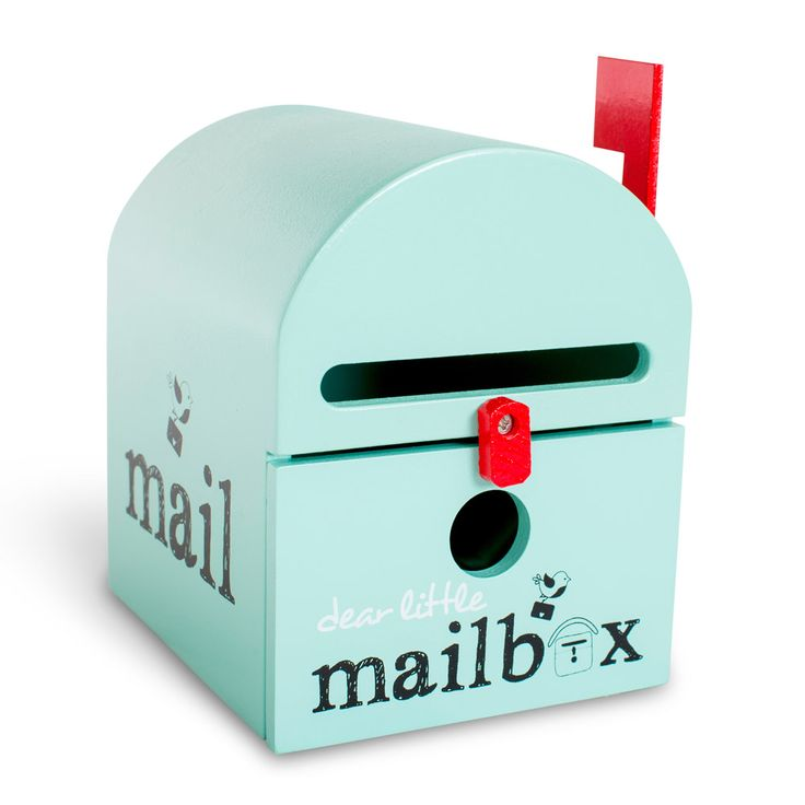 This Beautifully Crafted Blue Mailbox For Kids Is A Brilliant Way To Engage  Your Child To Write, Be Creative And To Have Fun. Buy Your Kids Mailbox Toy  ...