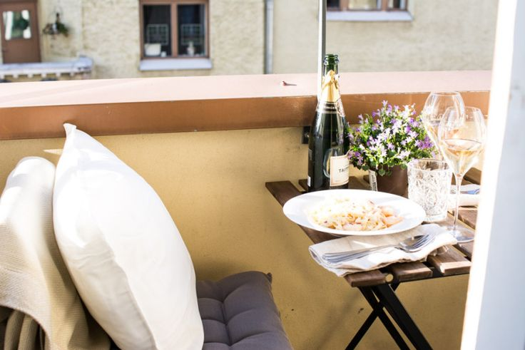 Summer on the balcony