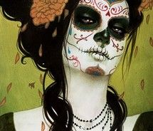 Day of the DeadHalloween Costumes, Makeup, Art, Sylvia Ji, Sugar Skull, Of The, Dead, Day, Costumes Ideas