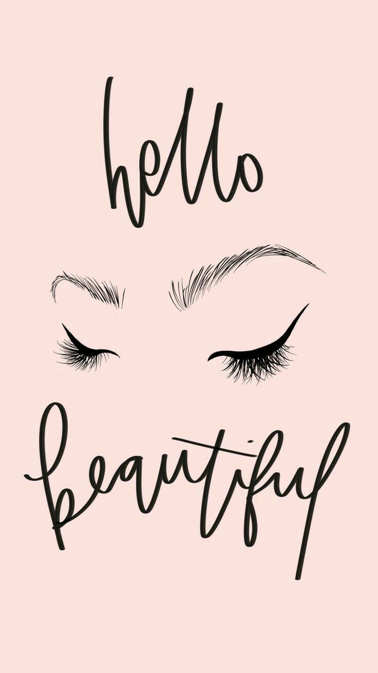 5eb3b6c9178 Pin by LaRuda on art in 2019 | Makeup wallpapers, Makeup quotes, Lashes