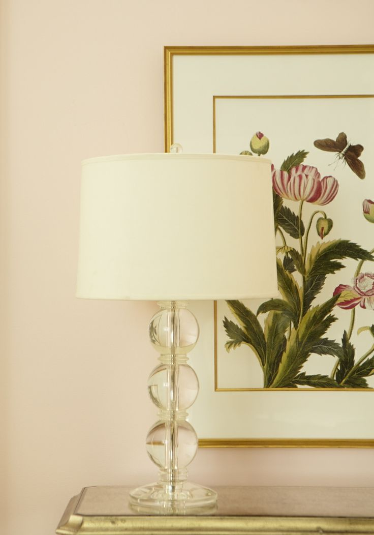 From ethanallen com · a brush of blush shop lightinglamp tablebedside