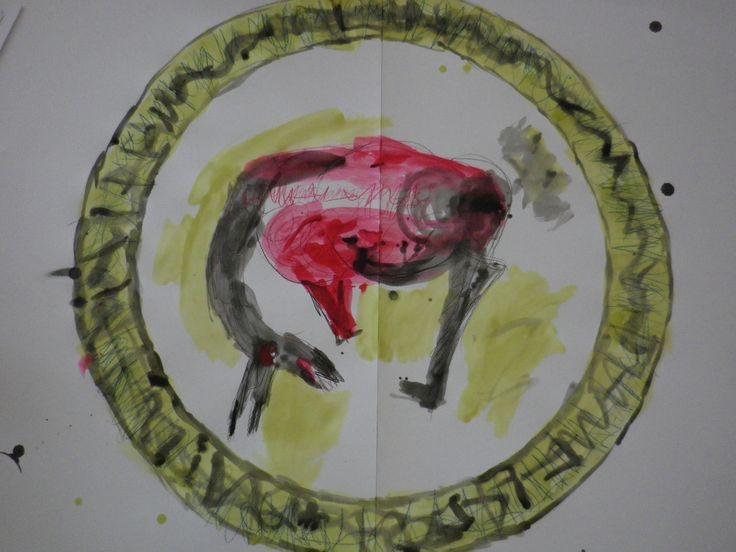Αγαπημένος Καλλιτέχνης ο Γιάννης Δημητράκης μας γοήτευσε με τα Άλογα και τα Άτια του και τον αντιγράψαμε ΑΤΙ…ΓΡΑΦΟΝΤΑΣ !!! Η τεχνοτροπία του μοναδική. Τη χρησιμοποιήσαμε για να δημιουργήσουμε…