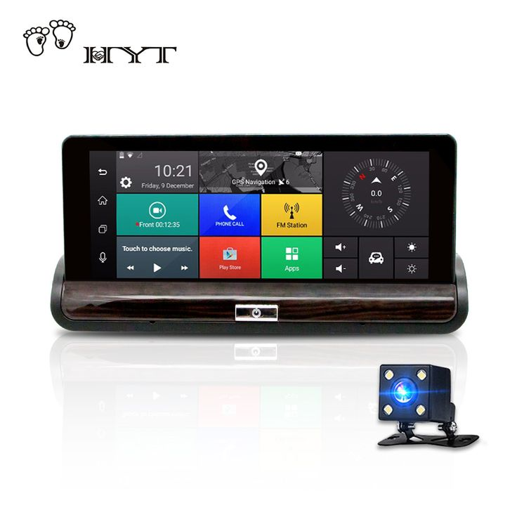 "BUY now 4 XMAS n NY. HYT H600 3G 7"" Car DVR Recorder GPS navigation Android RearView dashcam with wifi car registrar Dual Lens 1080P Bluetooth usb * Just click the VISIT button will lead you to find similar beautiful pieces on  AliExpress.com #christmas"