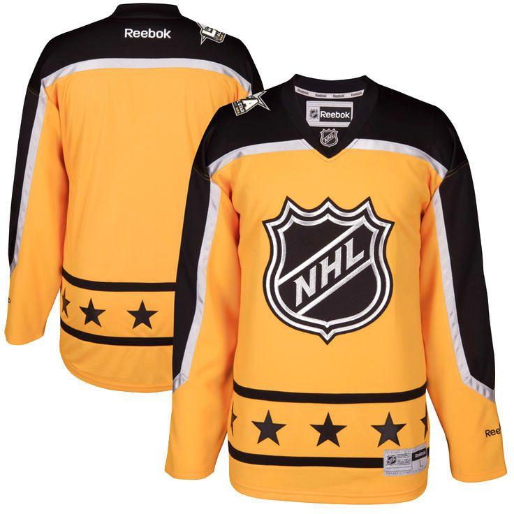 Atlantic Division Reebok 2017 NHL All-Star Premier Blank Jersey - Yellow - $139.99