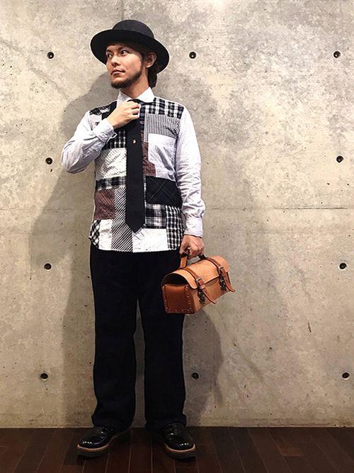 ネクタイスタイル☆    この日は、ふぬけ君(@funuke)にハットのお渡しをしました!  カッコ