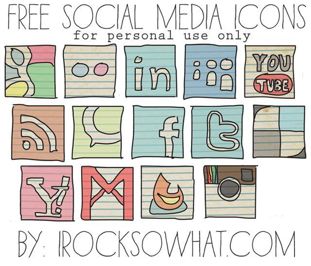 Free Social Media Icons!