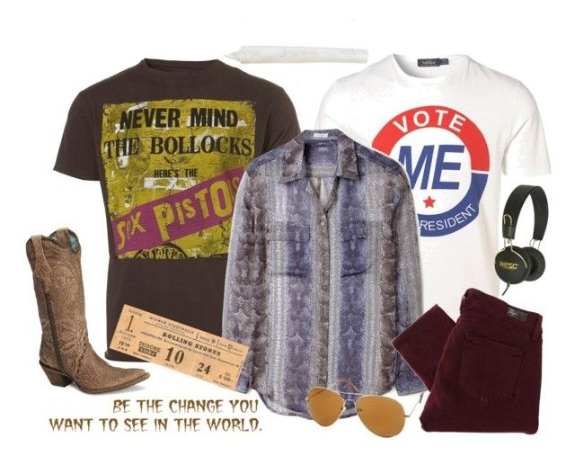 """Steven Hyde • That '70s Show"" by mdrnlifeisrbsh ❤ liked on Polyvore featuring AMPLIFIED, Equipment, Paige Denim, WeSC, danny masterson, steven hyde, hyde, that 70s show, that '70s show and that 70's show"