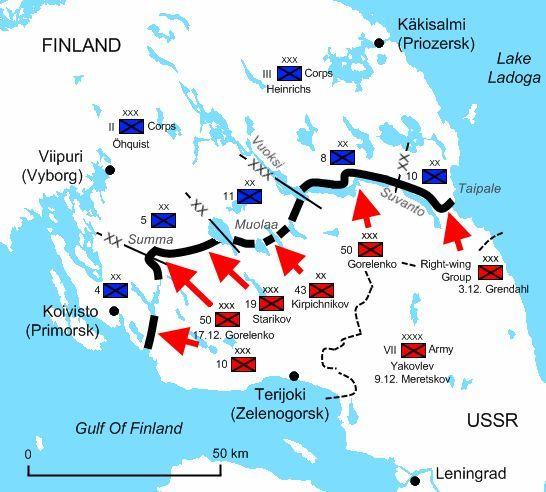 30 listopada 1939 r. Armia Czerwona zaatakowała Finlandię. Wydawało się, że komunistyczne imperium szybko zgniecie ten słaby kraj. Wynik był jednak inny, między innymi dzięki fortyfikacjom, lasom i dobrym morale.
