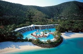 Hayman Private Island Resort in the Great Barrier Reef