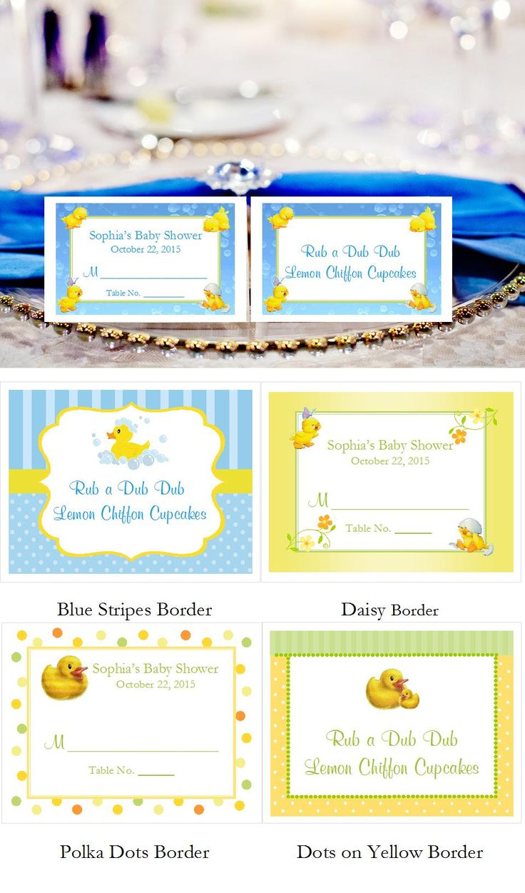 73 best duck baby shower rubber ducky supplies ideas images on 0 50 each rubber ducky baby shower buffet escort place cards save 15 see how