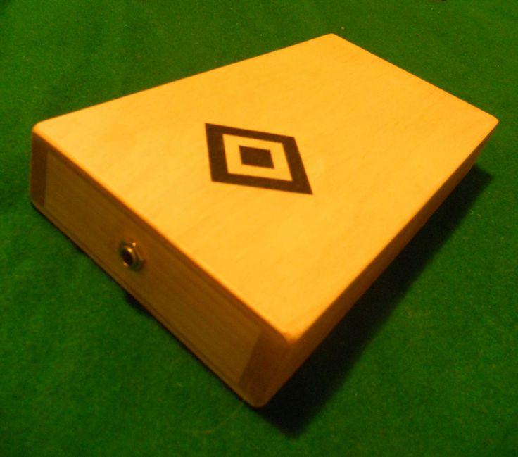 Stomp Box Footdrum Cigar box guitar Handmade Cajon & 41 best Instruments DIY images on Pinterest | Cigar box guitar ... Aboutintivar.Com