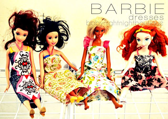 Bellapia Clothing Co.: Barbie Dresses....LOVE this