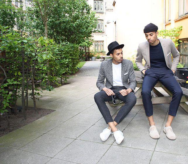"""Samuel Aiwerioghene: """"Jakkesæt, italienske sokker og hvide sneakers er god sommerstil """" - Euroman"""