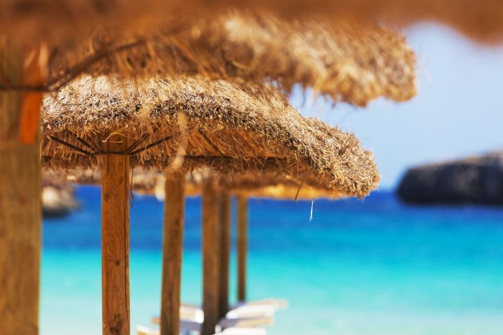 On the Greek island of Zakynthos is where you will find the beach resort town of Kalamaki, one of the most popular travel destinations in all of Greece.