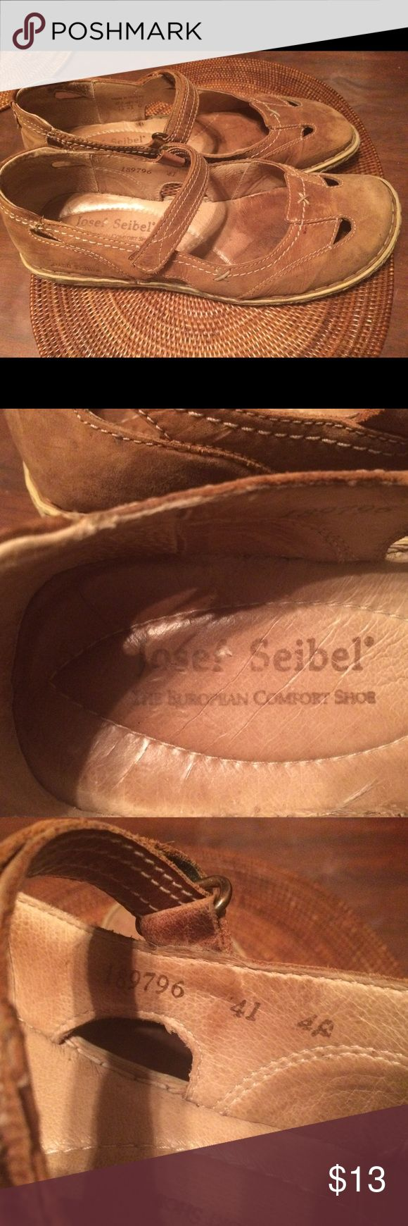Josef Seibel shoes size 11 (41) Good used condition . Have seen lots of wear, but lots of life left. Josef Seibel Shoes Flats & Loafers