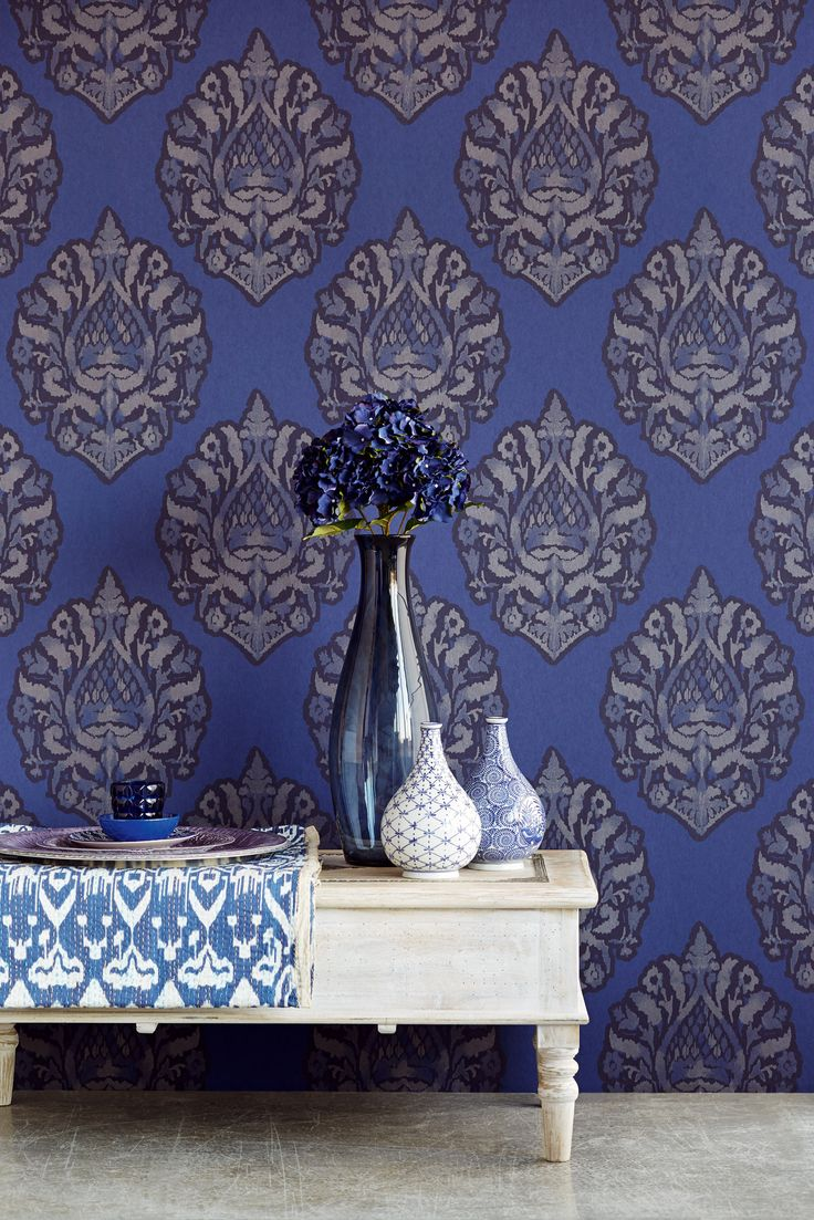 awesome blue modern take on a traditional design from Savour