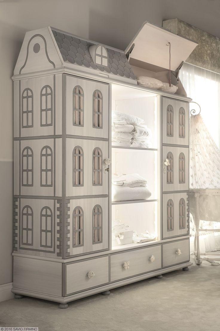This esclusive doll wardrobe is one of the last NOTTE FATATA by SAVIO FIRMINO's proposals for every #children's room #furniture #saviofirmino #design #Salonedelmobile #Milano #MDW16