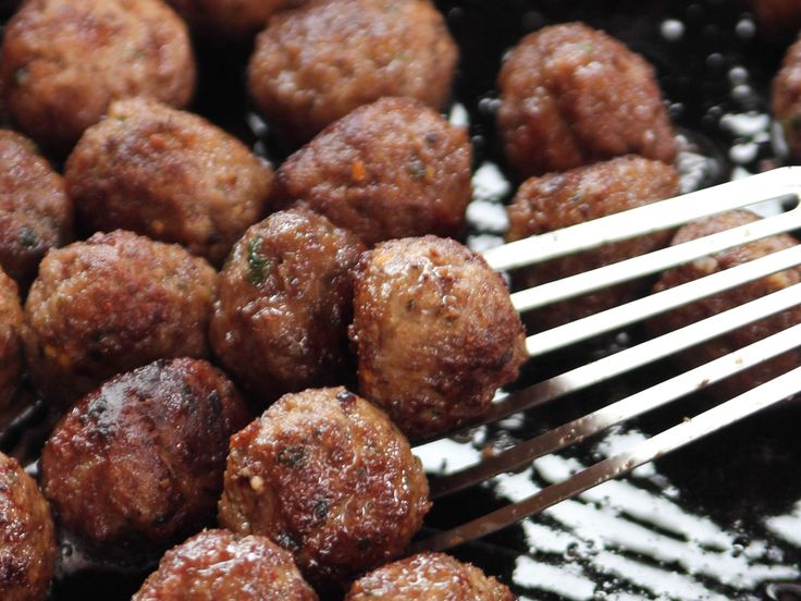 All-Purpose Meatballs. Pull from freezer to do as BBQ Meatballs with mash potatoes, Swedish Meatballs over noodles, Sweet/Sour with pineapple over rice.  recipe from Pioneer Woman, Ree Drummond via Food Network