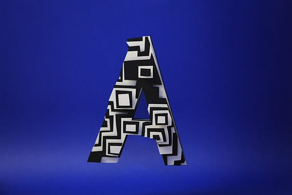 beautiful paper letter by Jerome Corgier